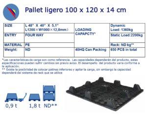 PALLET LIGERO